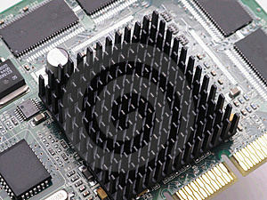 Heat Sink 3 Royalty Free Stock Photo - Image: 1809635