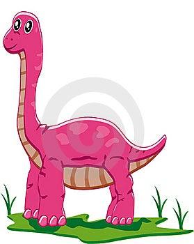 Baby Brontosaurus Stock Image - Image: 18001011
