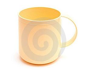 Empty Plastic Mug Royalty Free Stock Images - Image: 18004539