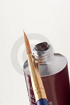 Tube Of Paint Royalty Free Stock Photo - Image: 18005045