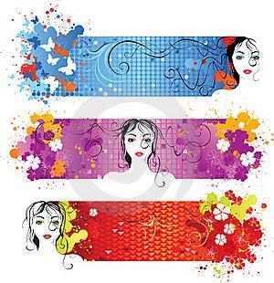 Shiny Banners Stock Photos - Image: 18006843