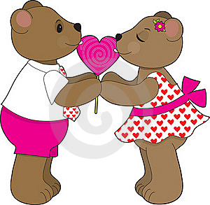 Lollipop Bears Stock Photo - Image: 18007130
