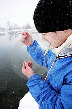Preparing The Fishing Rod Stock Images - Image: 18007374