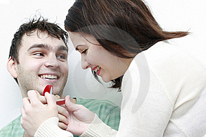 Man Proposing Marriage To A Woman Stock Photography - Image: 18007642