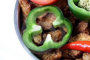 Capsicum Ring Royalty Free Stock Photos - Image: 18009138
