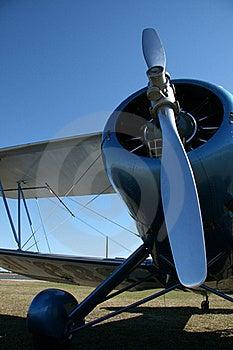 Biplane Stock Photo - Image: 18010010