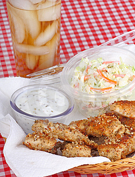 Chicken Strips Royalty Free Stock Images - Image: 18011019