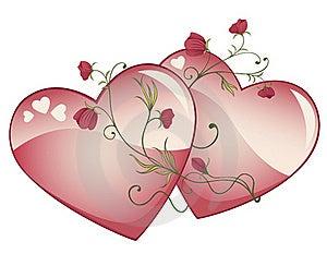 Valentine Hearts Royalty Free Stock Photo - Image: 18011245