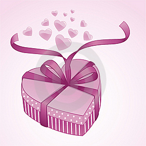 Valentine Gift Box Stock Photo - Image: 18011260
