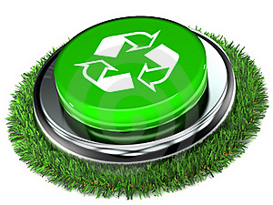 Recycle Push Button Stock Photos - Image: 18011673