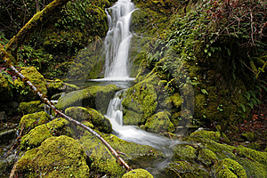 (upper) Merlin Falls Dreamy Royalty Free Stock Photography - Image: 18014057