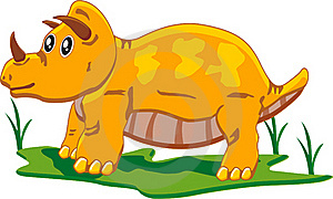 Baby Triceratops Stock Photography - Image: 18014472