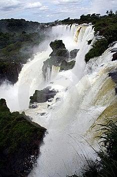 Iguacu Falls Stock Images - Image: 18022394