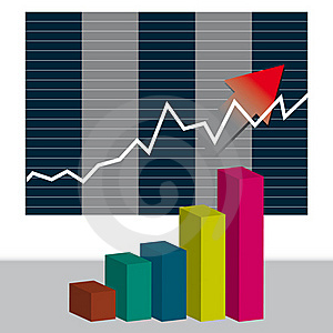 Business Chart Royalty Free Stock Image - Image: 18024406