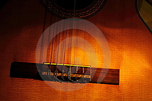 Old Concert Guitar Royalty Free Stock Image - Image: 18024716