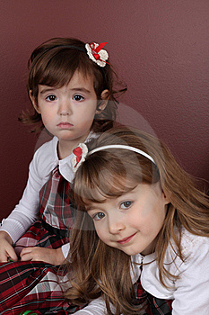 Two Sisters Stock Photos - Image: 18026213