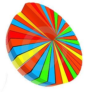Color Pie Diagram Stock Images - Image: 18027324