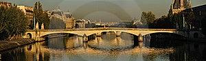 Pont Du Carrousel Stock Photos - Image: 18028943