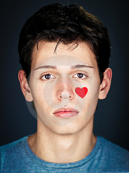 Portrait Of Amorous Young  Man Royalty Free Stock Photos - Image: 18029248