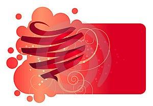 Heart Made Of Ribbon Stock Photography - Image: 18030922