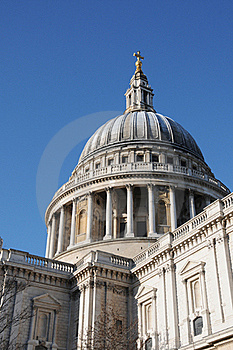 St Pauls Cathedral In London Royalty Free Stock Images - Image: 18033289