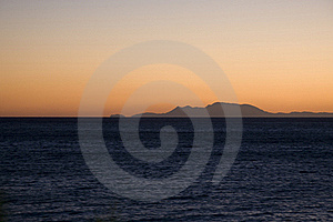 Sunrise On Aegean Sea - Karpathos Island Stock Image - Image: 18035391