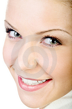Attractive Natural Woman Face I Royalty Free Stock Photography - Image: 18037217