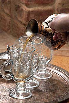 Copper Turk For Coffee Royalty Free Stock Image - Image: 18039306