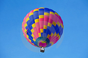 Balloon In The Sky Royalty Free Stock Photography - Image: 18040247
