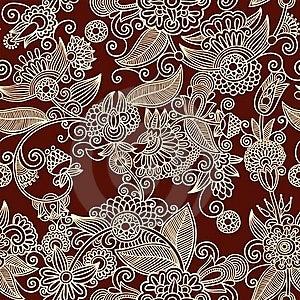 Seamless Pattern Royalty Free Stock Photography - Image: 18040277