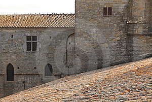 Carcassonne-architecture Abstract Royalty Free Stock Photo - Image: 18042345