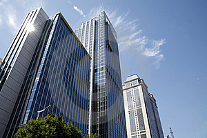 Modern Buildings Stock Image - Image: 18044551