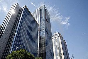 Modern Buildings Stock Image - Image: 18044551