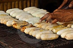 Barbeque Banana Stock Image - Image: 18044921