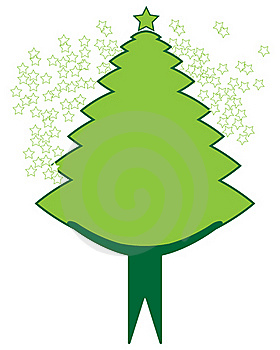 Christmas Tree Stock Photos - Image: 18046083