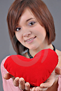 Red Heart Royalty Free Stock Image - Image: 18046586
