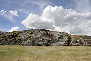 The Saqsaywaman Archaeological Complex, Peru Stock Image - Image: 18048261