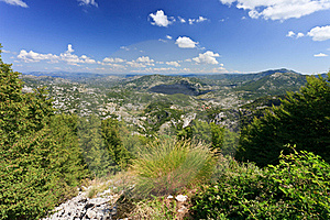 Views Over Montenegro Stock Image - Image: 18048771