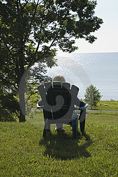 Relaxing View  Lake Huron Royalty Free Stock Photo - Image: 18049105