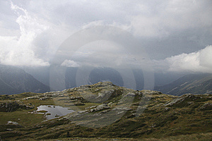 Site Of The Refuge Of The White Lake, France Stock Images - Image: 18051464