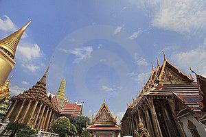 Wat Phra Kaew Thai Authentic Architecture Stock Photography - Image: 18051762