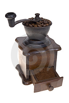 Grinder To Coffee Stock Photography - Image: 18051962