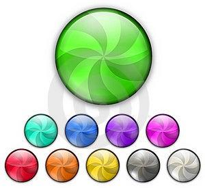 Color Lollipop Stock Photo - Image: 18053140