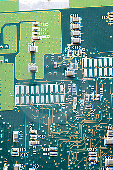 Close Up Of Computer Circuit Board Royalty Free Stock Image - Image: 18053686