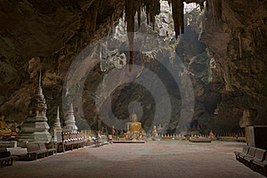 Image Of Buddha In The Cave. Royalty Free Stock Photos - Image: 18055258
