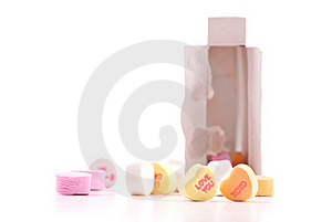 Valentines Day Candy Stock Image - Image: 18055851