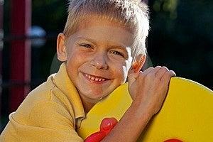 Portrait Of Smiling Little Bo Stock Photos - Image: 18056153