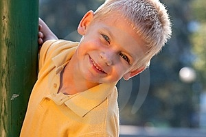 Smiling Little Boy Stock Images - Image: 18056194