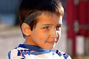 Smiling Little Boy Royalty Free Stock Photography - Image: 18056197