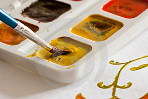 Watercolors. Stock Photography - Image: 18057872